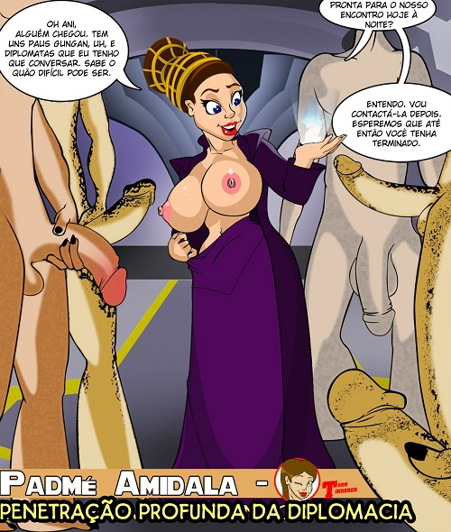 Padmé Amidala – Penetração Profunda da Diplomacia (Star Wars)