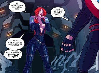 Widow's Down Time (Vingadores)
